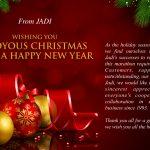 Jadi announces holiday dates