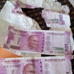 Colour printer used to print fake money