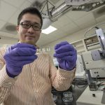 Stretchable inkjet circuit developed