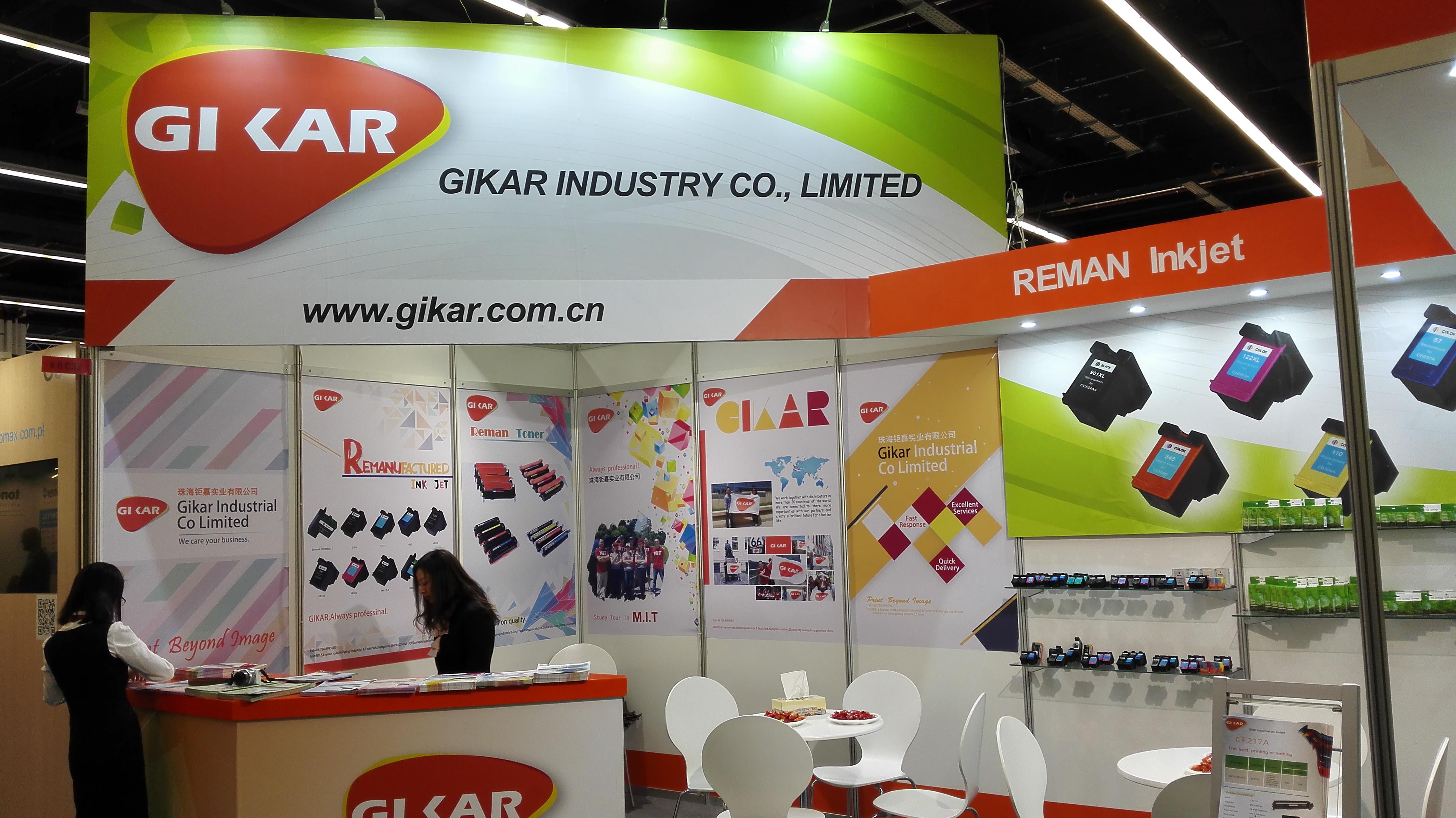 Gikar Industrial discusses Paperworld 2017