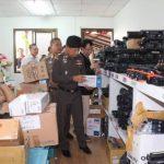 Thai authorities raid counterfeit factory