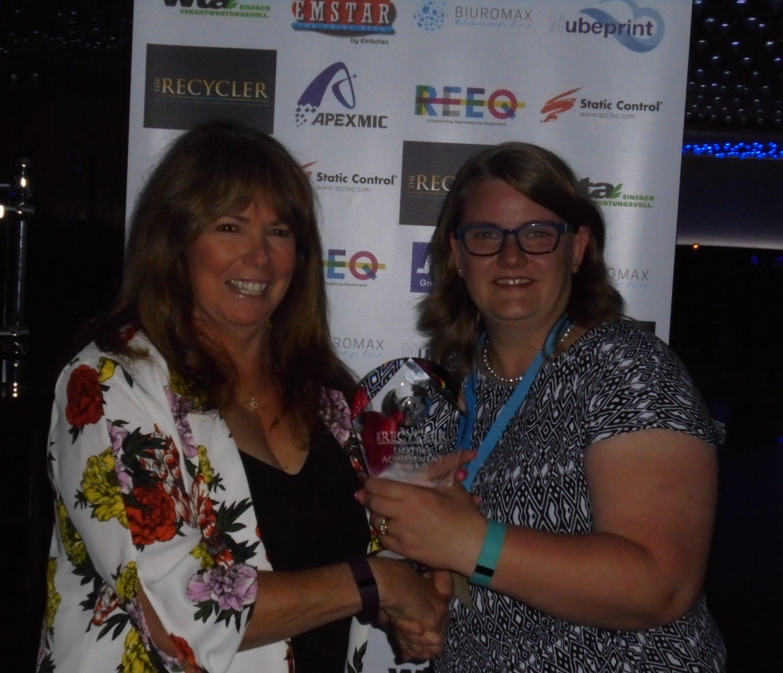 Haywood receives award