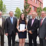 KMP's apprentice receives award