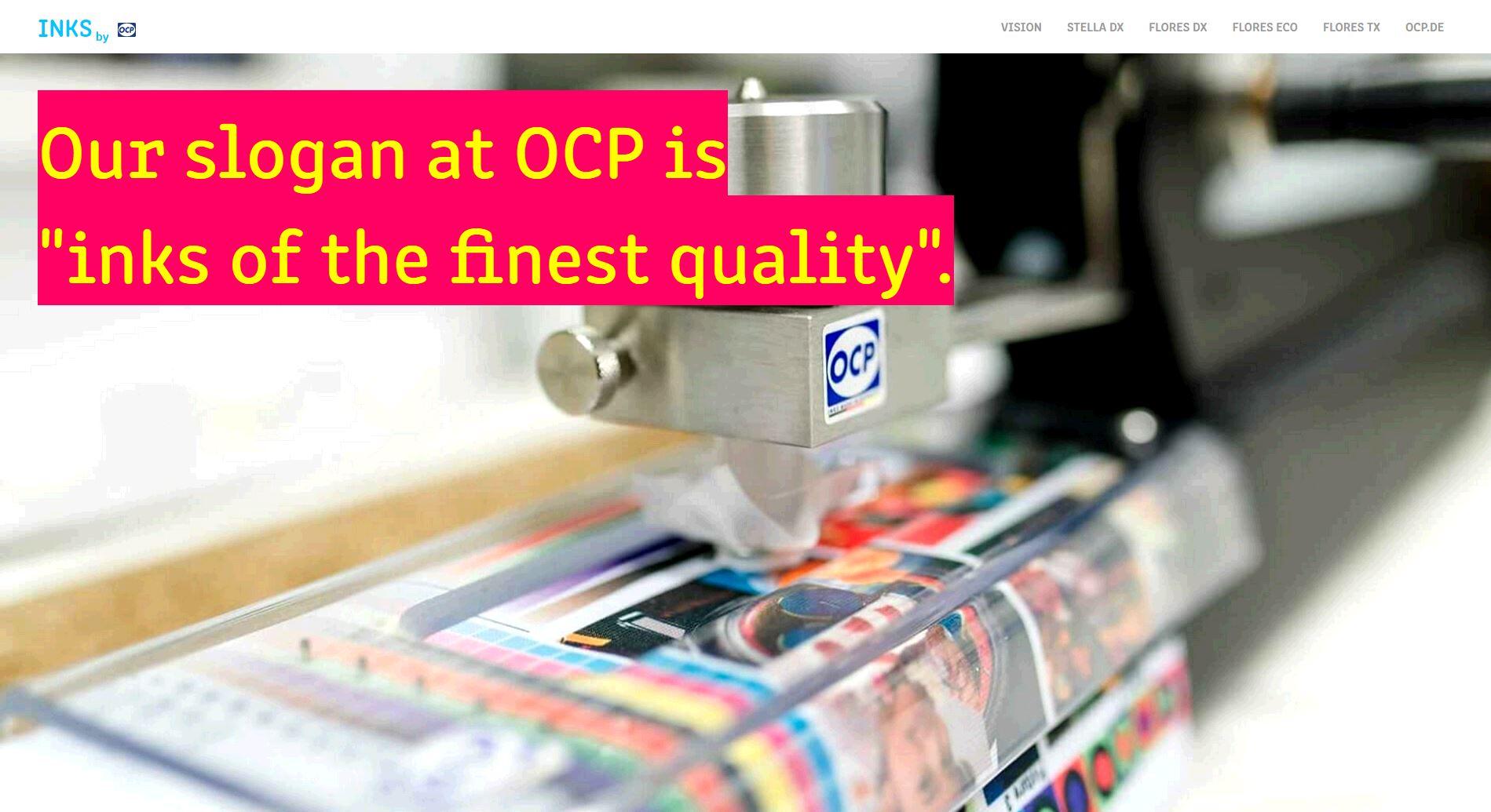 Image result for German Ink Manufacturer OCP