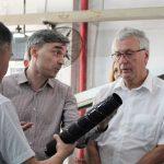 Pelikan team jets off to China in Print-Rite visit