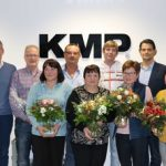 Employees honoured at KMP Christmas party