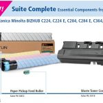 New Konica Minolta components from Katun
