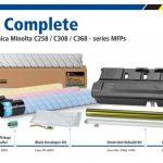 Katun releases Konica Minolta components