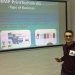 KMP apprentice trains in London