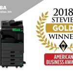 Toshiba hybrid copier gets the gold