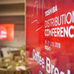 Toshiba partners attend distribution conference