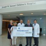 Konica Minolta wages war on childhood cancer