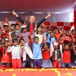 Canon India celebrates 4-year village adoption