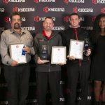 Kyocera SA honours top technicians