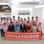 Kyocera welcomes Vietnamese children