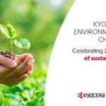 KYOCERA marks 27 sustainable years
