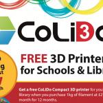 CoLiDo offers schools free 3D printer