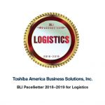 Toshiba dubbed Logistics Pacesetter