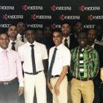 Kyocera supports vocational skills