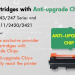 Aster Graphics' new toner cartridges with anti-upgrade chips