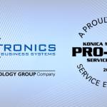 Konica Minolta awards Caltronics