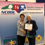 SCC honoured by NC Department of Labor