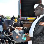 Uganda destroys tonnes of counterfeit cartridges