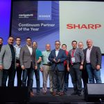 Sharp Business Systems named Partner of the Year