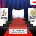 OKI's A3 printer receives award