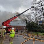 Fire engulfs ITP UK facility