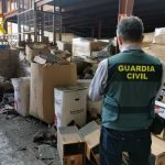 Spanish Civil Guard finds 5,000 tons of clandestine waste toners