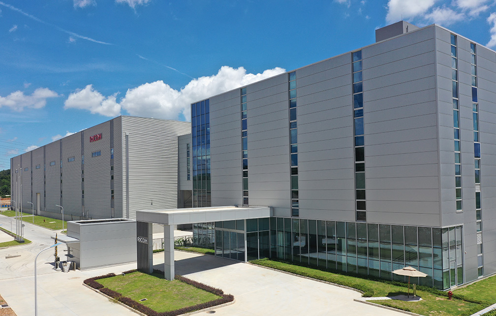 Ricoh starts production in new factory in China – The Recycler ...