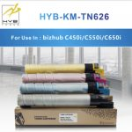 HYB showcases latest products