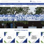 CTS is 25 and celebrates with a new look website