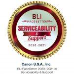 Canon receives BLI Pacesetter award