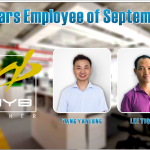 HYB names employees of the month