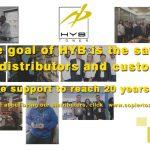 HYB honours global partners