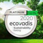 Lyreco awarded Ecovadis platinum medal