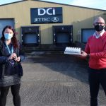 DCI donates hand sanitiser to local Council