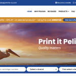 Pelikan website gets a new look
