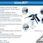 DELACAMP AG introduces LicoJet cleaning tool and more