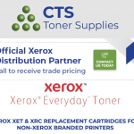 CTS Toner Supplies partners with Xerox