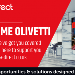 Data Direct to distribute Olivetti products