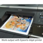 Epson selected as a partner for Shueisha Manga-Art Heritage