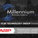 Millennium Business Systems earns AAA