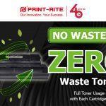 Print-Rite promotes no waste 2.0 cartridges