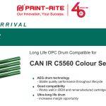Print-Rite introduces new long life OPC drum